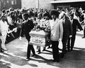 Jimi Hendrix Funeral Back In 1970 - celebrities-who-died-young photo