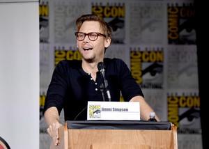 Jimmi Simpson Moderating the 'Psych: The Movie' Panel @ SDCC 2017