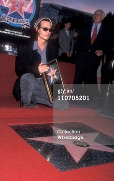 Johnny Depp 1999 Walk Of Fame