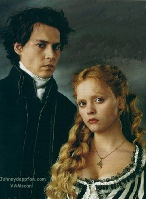 Johnny Depp and Cristina Richi