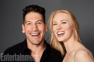Jon Bernthal and Deborah Ann Woll @ Comic-Con 2017