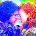 Jon and Ygritte - game-of-thrones fan art