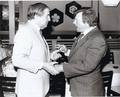 Jonathan Frid and John Karlen--late 1980s - dark-shadows photo