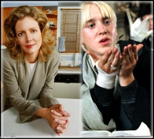 Joyce Summers and Draco Malfoy