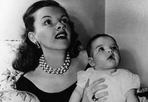 Judy Garland and Baby Liza