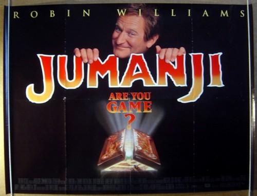 Jumanji fondo de pantalla entitled Jumanji (1995) Poster