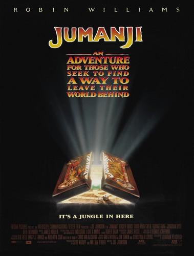 Jumanji fondo de pantalla titled Jumanji (1995) Poster