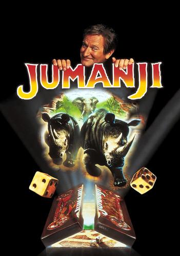 Jumanji দেওয়ালপত্র titled Jumanji (1995) Poster