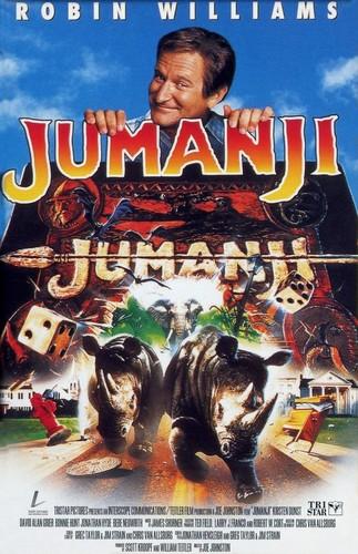 Jumanji fondo de pantalla called Jumanji (1995) Poster