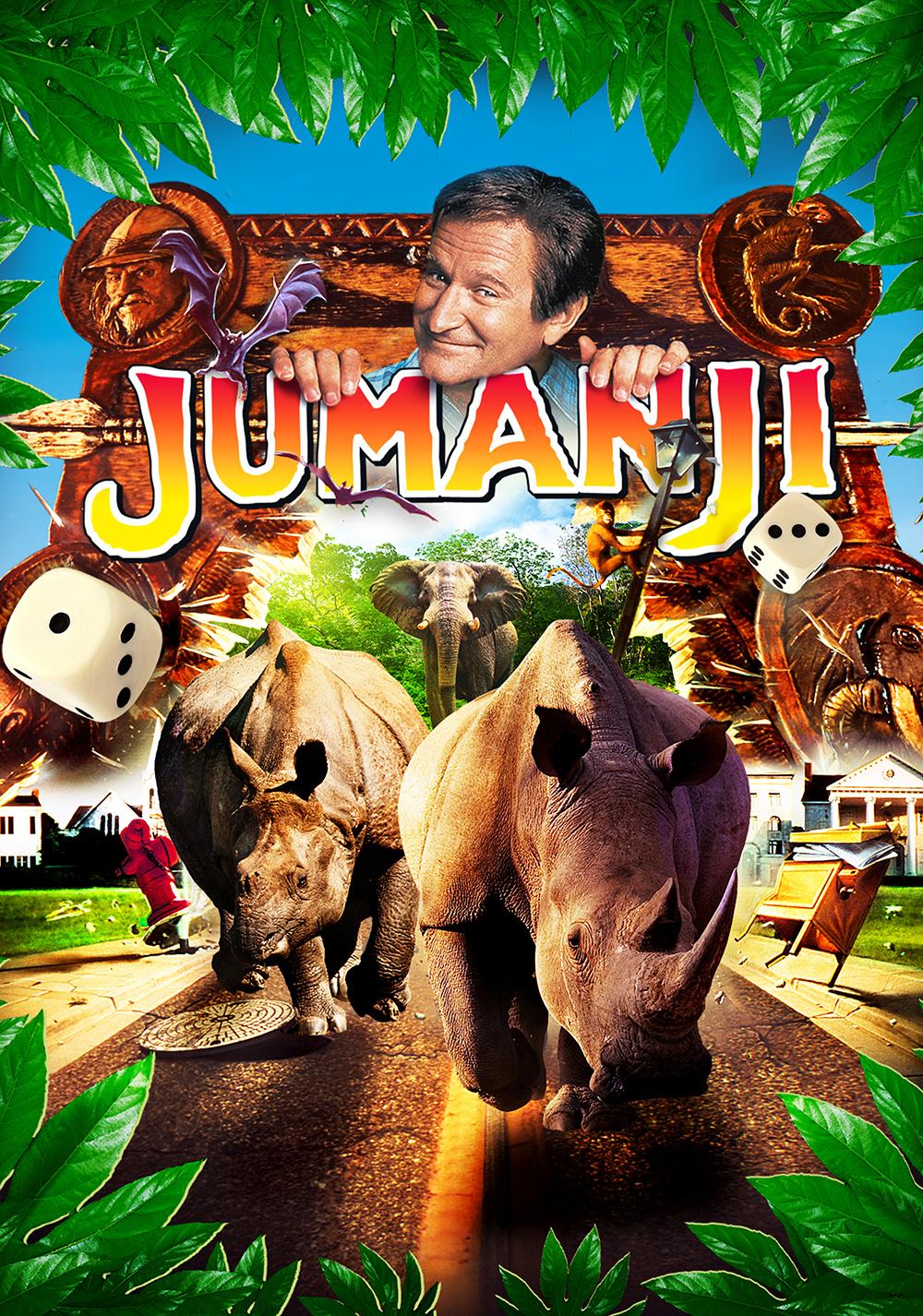 Jumanji (1995) Poster