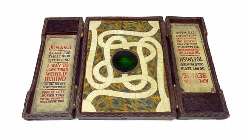Jumanji fondo de pantalla titled Jumanji: The Game