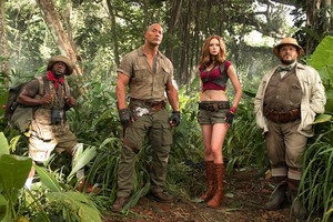 Jumanji: Welcome to the Jungle (2017) Still