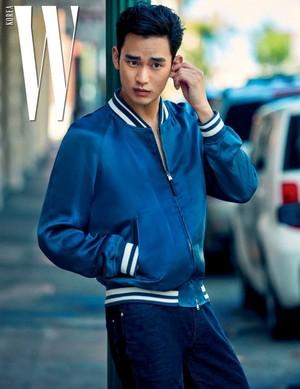 KIM SOO-HYUN FOR JULY 2017 W MAGAZINE