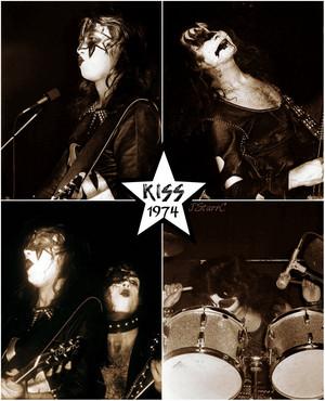 kiss ~Detroit, Michigan...April 7, 1974