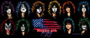 KISS ~Happy 4th of July