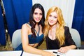 Katherine McNamara and Emeraude Toubia