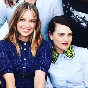 Katie and Melissa