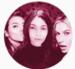 Kendall Jenner, Haylee Pergola and Hailey Baldwin.  - haylee-pergola-fans icon