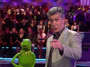 Kermit the Frog and Tom Bergeron