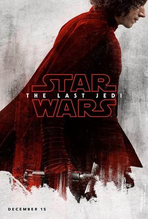 Kylo Ren The Last Jedi Teaser Poster