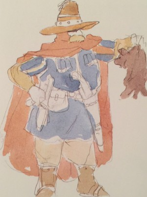 Lord Yupa - The Art Of Nausicaä Of The Valley Of The Wind - Watercolor Impressions - Hayao Miyazaki