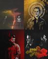 Lucifer and Gabriel - supernatural fan art