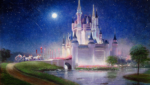 Disney پیپر وال titled Magic Kingdom