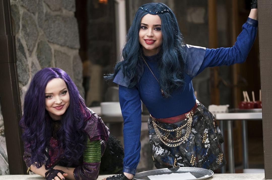 disney, descendants, mal, evie, carlos, jay, movie | Disney ...