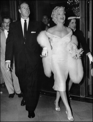 Marilyn And секунда Husband, Joe DiMaggio