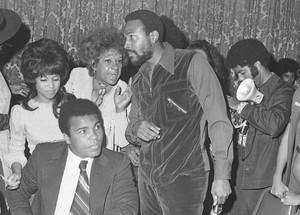 Marvin And Muhammad Ali