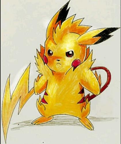 Pikachu wallpaper titled Mega pikachu
