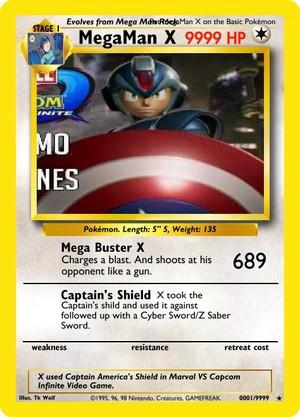 MegaMan Card