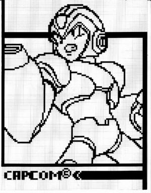Megaman X in pixel 01