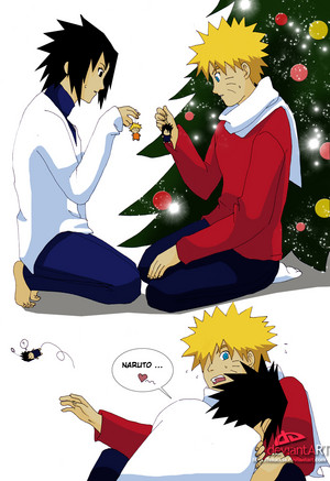 Merry giáng sinh Naruto
