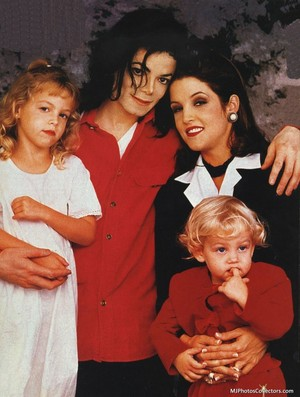 Michael And Family Back In 1994