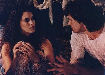 Michael talking to Star