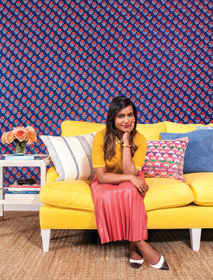 Mindy Kaling - Domino Photoshoot - 2015