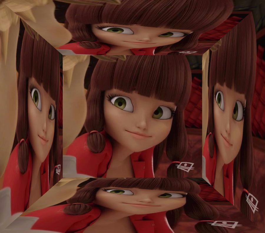 Mirrored Обои Edits of Lila Rossi - Miraculous Ladybug Фан