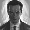 Moriarty - sherlock-on-bbc-one fan art