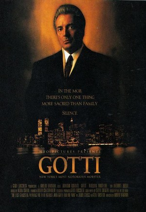 Movie Poster 1996 HBO Film, Gotti