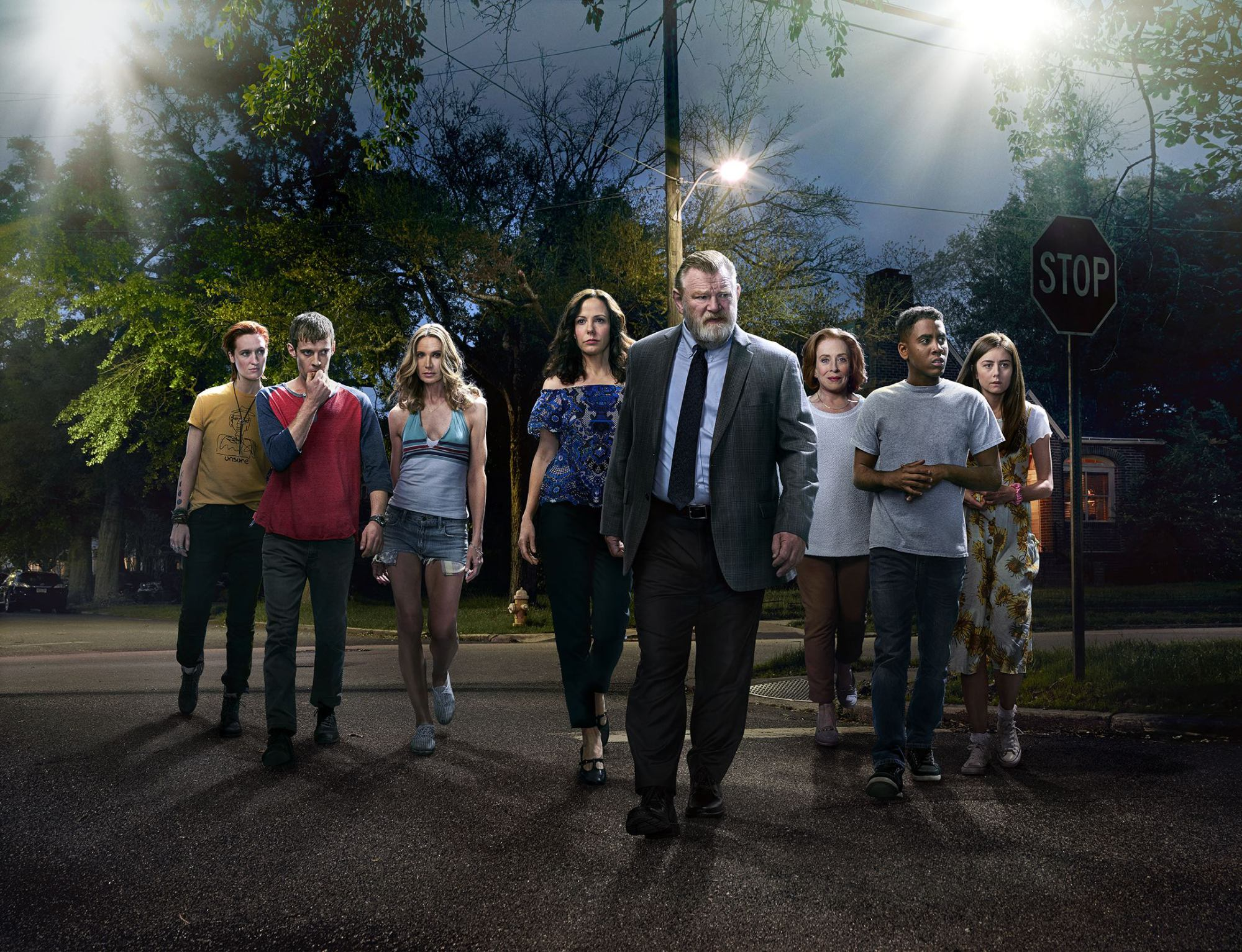 Mr Mercedes Cast Season 1 Official Picture Photo on The Bill Of Rights Poster