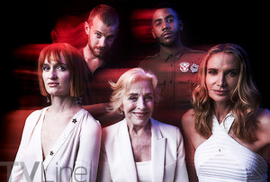 Mr. Mercedes Cast at San Diego Comic Con 2017