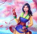 Mulan - disney fan art