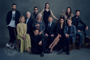 Murder on the Orient Express (2017) cast