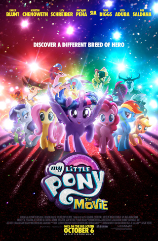 My Little Pony Friendship is Magic wallpaper entitled My Little Pony The Movie Poster