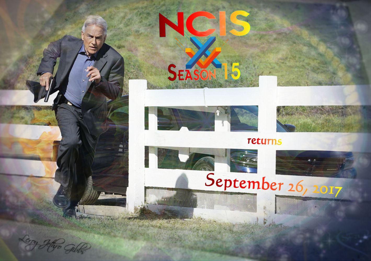 NCIS S15 returns 26 September 2017