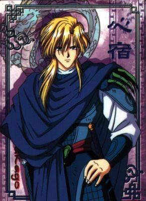 "Nakago from""Fushigi Yuugi"""