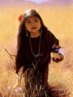 Native Child sejak Larry Riley