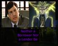 Neither a Borrower Nor a Lender Be - yu-gi-oh fan art