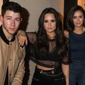 Nick Demi and Nina - demi-lovato photo
